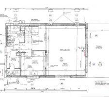 Plans d'exécution du RdC VF pour envoi à l'étude béton