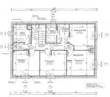 Plans d'exécution de l'étage VF pour envoi à l'étude béton