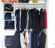 Ça y est les vêtements sont enfin rangés !