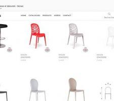 Idée chaises pour SAM en patchwork de couleur