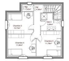 Seulement des modif sur l'implantation des armoires car ce sera des lits doubles et bac de douche complet jusqu'au bout.