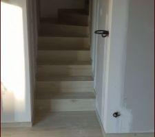 Carrelage escalier. PARFAIT