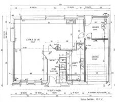 Les plans du rez de chaussée