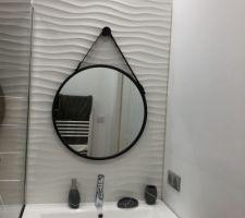 Fin des travaux dans la salle d?eau