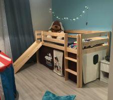 Photo de la nouvelle chambre de mon grand Loulou