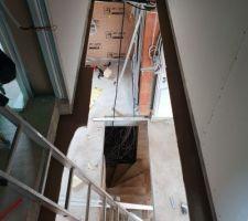 Tremie pour escalier etage