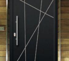 Porte d?entrée TEXTURAL Solobloc