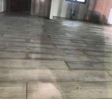17.01.19 travaux de carrelage /faïence terminé ... très beau travail bravo aux artisans