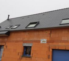 Habillage des sous-faces avancées de toitures en PVC Blanc