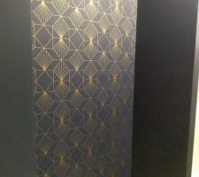 Papier peint dans l'entrée