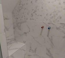Douche de la salle d'eau