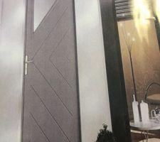 Porte prête à peindre