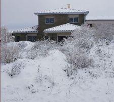 Sous la neige !