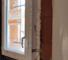 Fenêtre des WC du studio