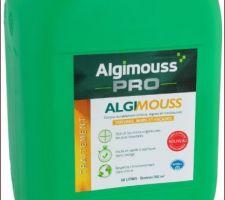 Nettoyage toiture et façade Algimouss Pro