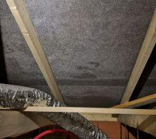 Condensation sur écran sous toiture