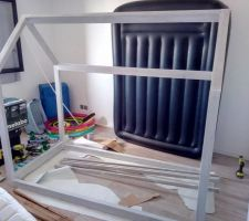 Fabrication lit cabane