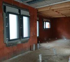 Fenêtres cellier et wc 60/135 All 80