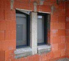 Fenêtres ral 7016 sablé