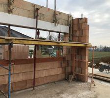 La fenêtre panoramique de la cuisine (3m)