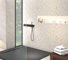 Idée carrelage salle de bain RDC