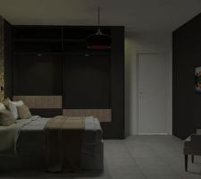 Simulation chambre parent version 2 by Darling
