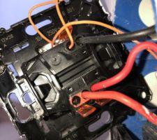 Interrupteur à shunter car luminaire remplacé par une caméra Netatmo Presence.