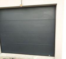 Nouvelle porte de garage