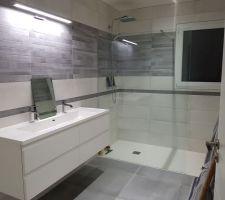 2eme salle de bain, meuble sanijura Ne manque plus que le miroir!