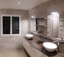 Salle de bains terminee