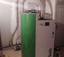 Chaudière à granulés OKOFEN Pellemactic Smart XS - chauffage + ECS