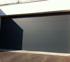 Porte garage motif L (section 3m50)