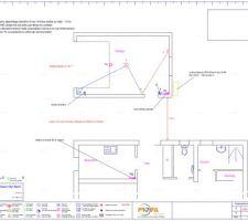 Plan électrique du garage