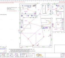 Plan électrique du rdc