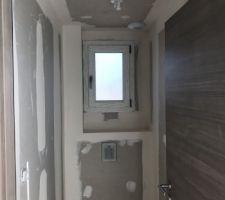 WC avec faux plafond
