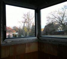 Fenêtre salle d'eau rdc intérieur