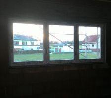 Fenêtre chambre parentale étage.