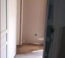 Voilà l?escalier tel qu?il est posé aujourd?hui :-(
