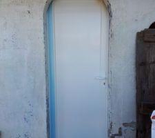 Porte posée