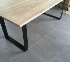 Fabrication de la nouvelle table de salle à manger!