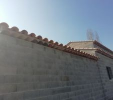 Génoises façade nord