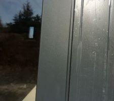 Zoom sur l'alu anthracite, j'adore <3