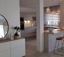 La vue sur la cuisine de Meliso + 6 autres photos