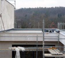 Étanchéité des toits terrasses le 22/02/2019