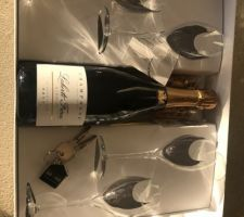 Champagne avec remise des clés