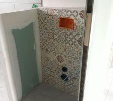 Faïence sdb et wc