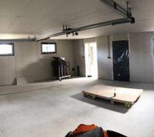 Semaine 09 : Isolation du garage.