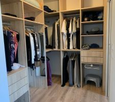 Dressing de la suite parentale