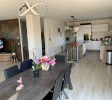 Salon et salle à manger, et cuisine