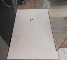Receveur extra plat SolidSoft blanc - Salle de bain étage